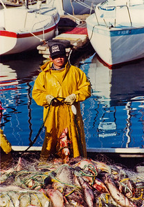 Fisherman After the Catch