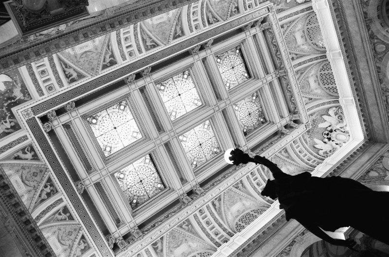 Film - Ilford HP5 Plus 400<br /> <br /> Library of Congress in Washington, DC, USA