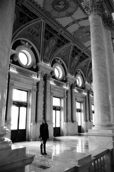Inside the Library of Congress in Washington, DC, USA<br /> <br /> Film - Ilford HP5 Plus 400