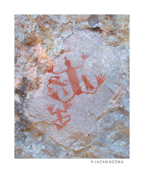 Water Glyphs Detail - CA-VEN-195