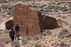 Una Vida exists in a fairly natural state of ruin. It has been free of vandalism and archeological excavation. Its construction began about A.D. 850 and built concurrent with work on Pueblo Bonito.