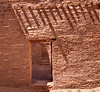 The roof beams (vigas) were from trees cut 40 - 60 miles away.