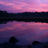 Weekapaug Violet Sunrise over Pond  -- Rhode Island