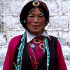 Tibetan woman we met in Lhasa