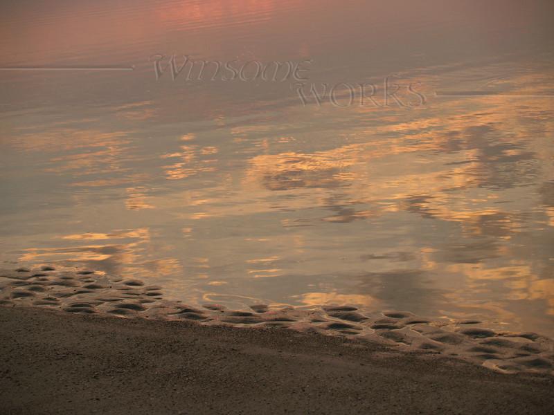 Sea Meets Sand, Dawn  - Hunting Island S.P., SC