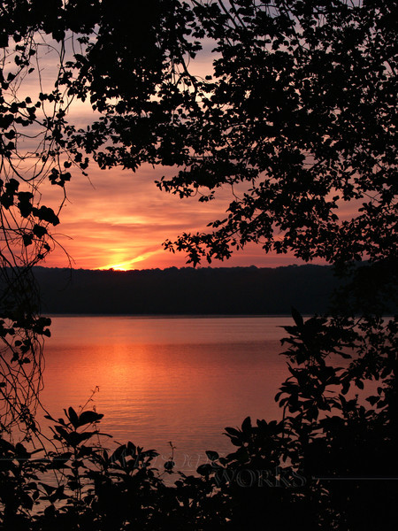 Sunrise at Watchaug Pond - Burlingame S.P., Rhode Island