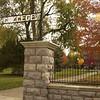 College Avenue entrance to Goshen College - Goshen, Indiana