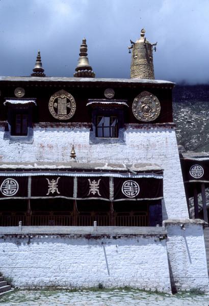 Side View of Sera Monastery  - Lhasa, Tibet