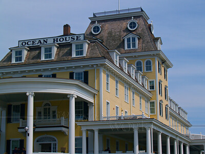Ocean House, a renovated inn of the Victorian era - Watch Hill, Rhode Island
