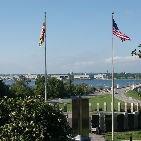 Naval Academy from Pendennis Mount.
