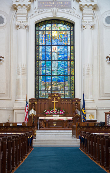 Alter of the United States Navel Academy Chapel