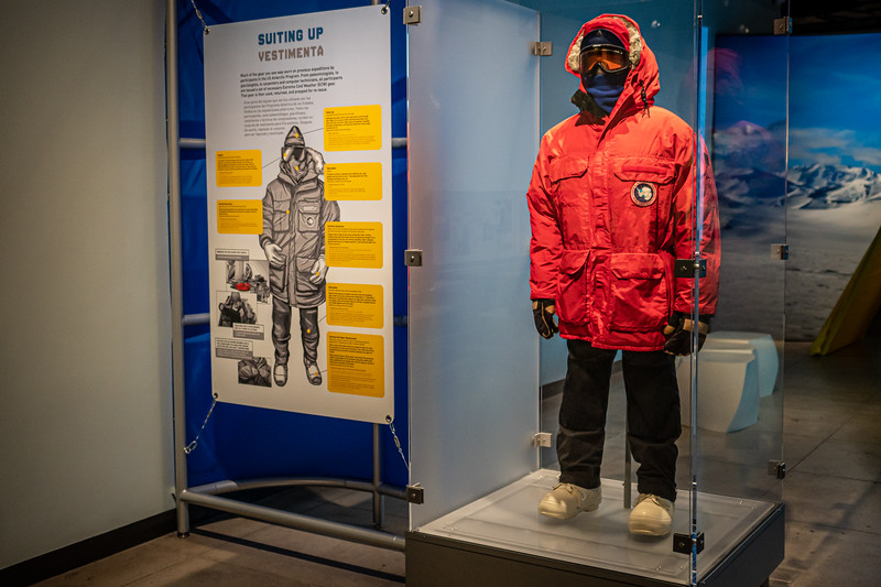 Typical gear used by U.S. Antarctic Program participants