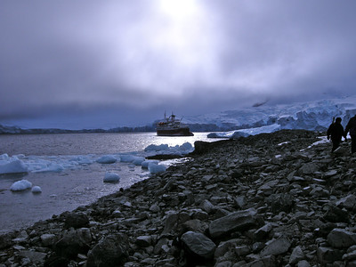 Antarctic at dusk 2010 ak