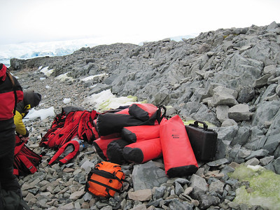 some of the kit, life jackets, etc.