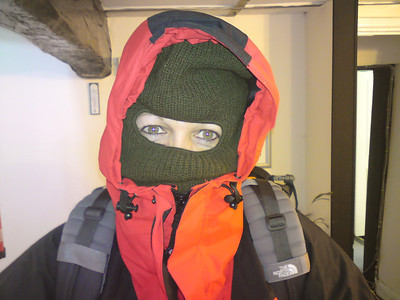 Me kitted up