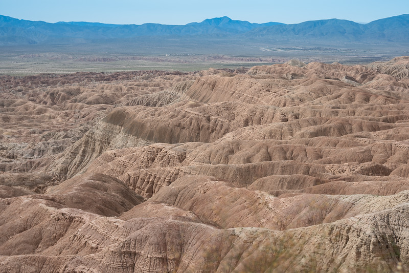 View of the badlands from the Vista Point