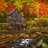 Side View-Grist Mill-Babcock St Park-Oct132014_0227