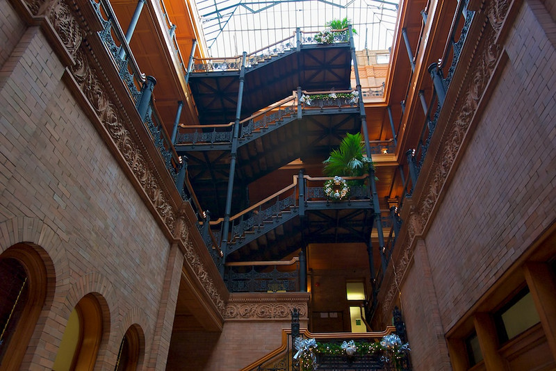 Bradbury Building from the Ground Floor
