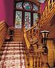 Carson Mansion, Eureka CA   Main stairway .