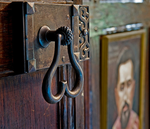 St. Josaphat's Monastery Door Handle, Glen Cove
