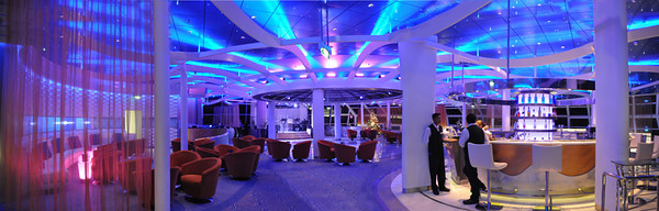 Celebrity Solstice Sky Lounge panorama