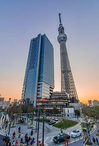 Tokyo Sky Tree & Solamachi