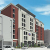 This project is a seven-story, 108 guest room hotel. All construction documents and renderings were created using Autodesk Revit software as the base.  This particular rendering was created using a combination of Revit, Sketchup and Photoshop.