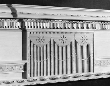 Mantel detail
