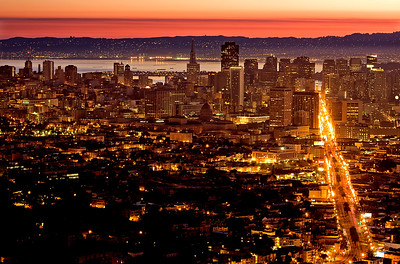 Good Morning San Francisco! - © Simpson Brothers Photography