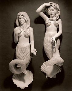 Mermaids in Spanish Cedar