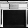 Neoclassical carved mantel