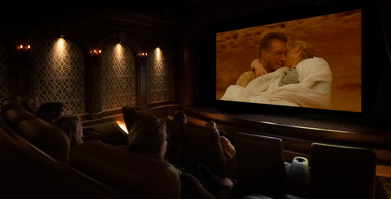 The private movie experience