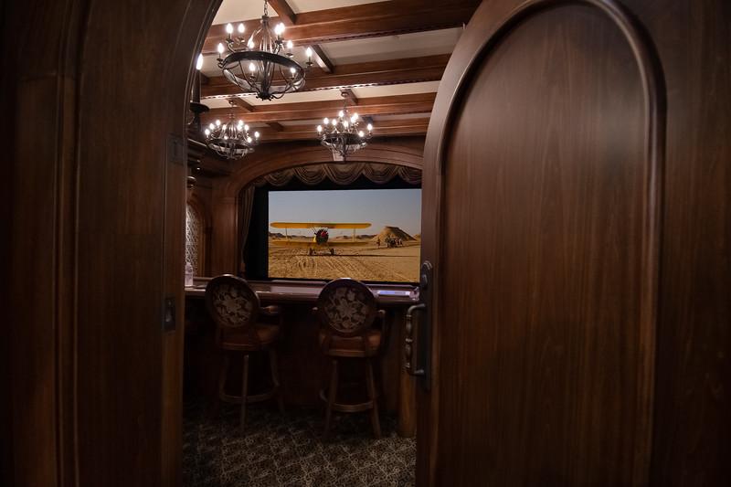 Private Cinema with Italian Design Influence