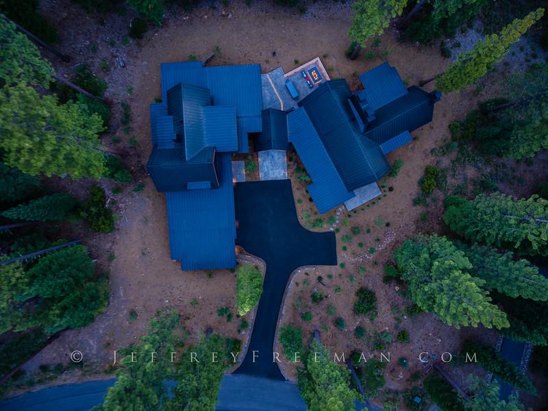 Martis Camp Retreat - aerial view