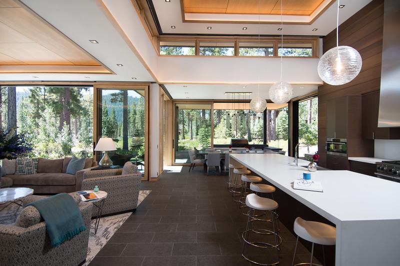 Open living, seamlessly blending indoors + outdoors