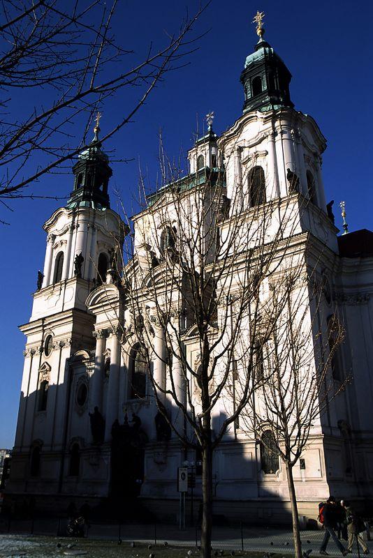 St. Nicholas Church on Staromestske Namesti in Prague