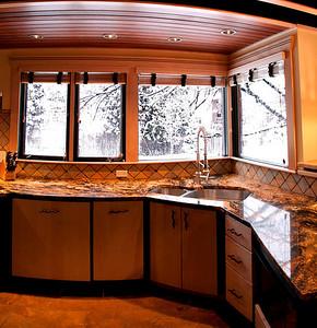 107 Vaughan Street kitchen panorama (10 images vertical)