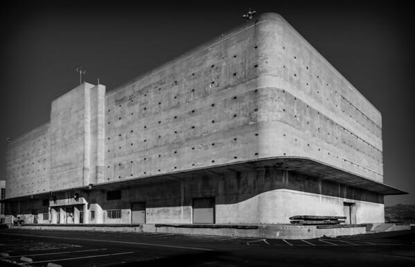 The backside of the General Warehouse in Richmond CA #generalwearhouse #richmondCA #artdeco #concrete