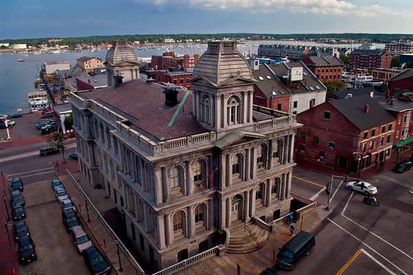 Portland Customs House, Old Port, Portland, Maine