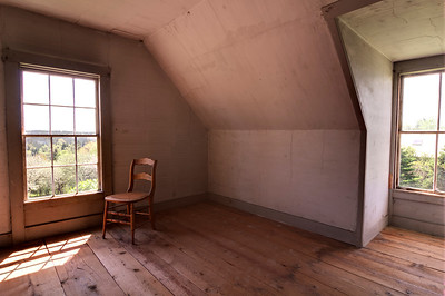 "This is the room (in color) where ""Beans Drying"" was painted in 1968.  (3rd floor)"