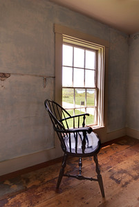 "This is another view of the room (in color) where ""Alvaro's Hayrack"" was painted in 1958.  (Second Floor)"
