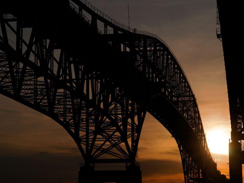 Old Bridge at Sunrise