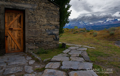 Stone Barn on the Estancia, Argentina