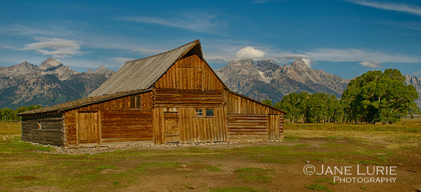 Mormon Row Barn, Grand Teton National Park, WY