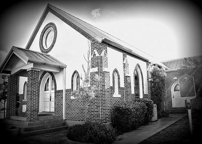 July, 2013  Bethel Methodist church built in 1924 near Boz, Texas