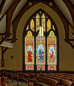 Makemie Memorial Presbyterian Church-right window