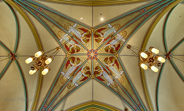 Church of the Madeleine - ceiling