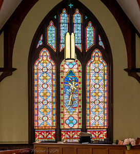 Makemie Memorial Presbyterian Church-left window