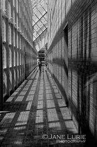 Corridor Black and White, Kevin Roche