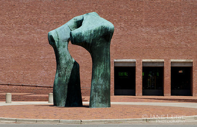 Henry Moore and the IM Pei Library